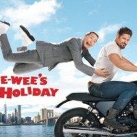 pee wees_big_holiday_poster rare