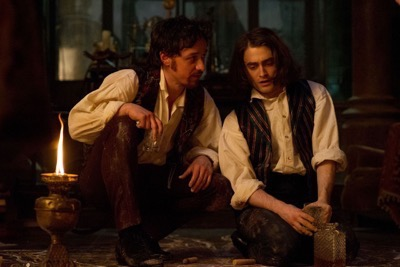 Victor Frankenstein press still rare