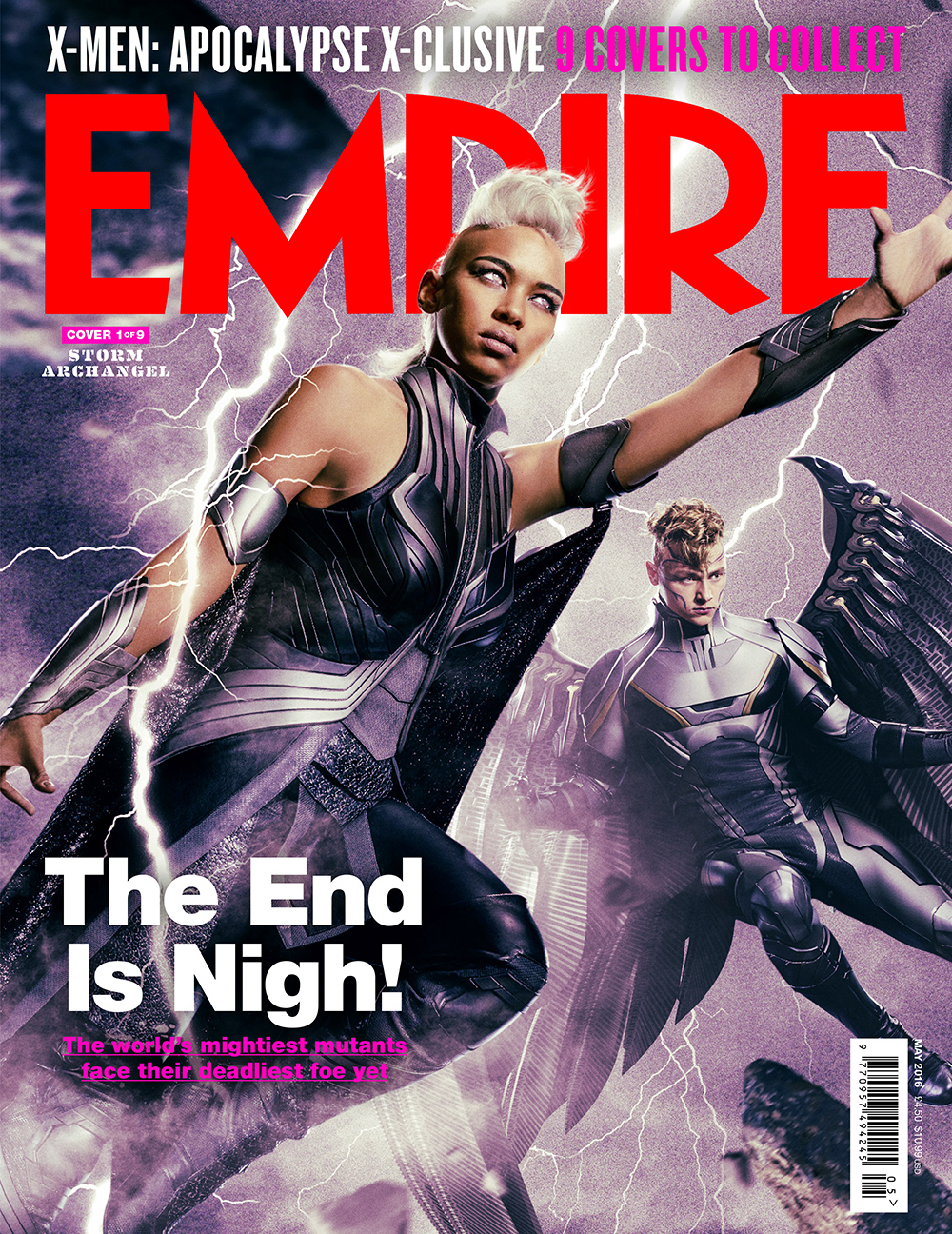 X-Men: Apocalypse empire magazine jean grey cover