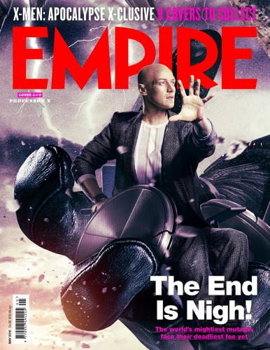 X-Men: Apocalypse empire magazine professor X cover