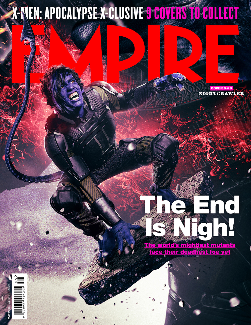X-Men: Apocalypse empire magazine mystique cover