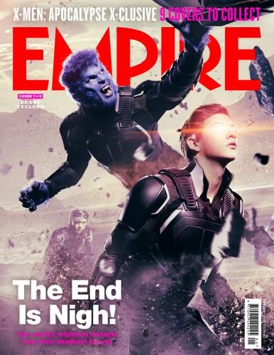 X-Men: Apocalypse empire magazine mystique cover