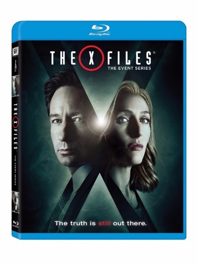 x-files event series blu-ray cover
