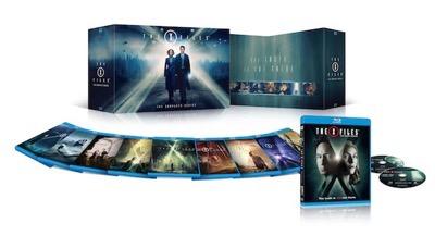 X-Files complete series blu-ray set