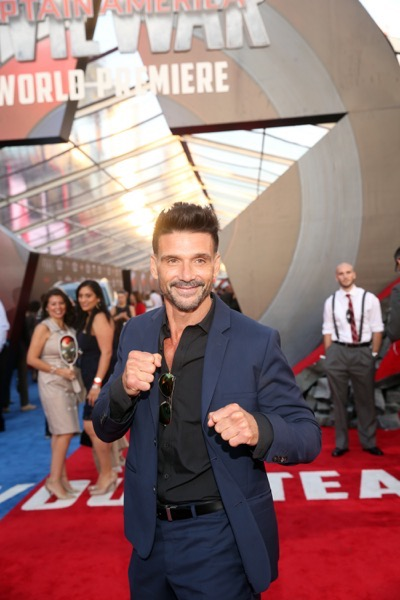 "HOLLYWOOD, CALIFORNIA - APRIL 12:  Actor Frank Grillo attends The World Premiere of Marvel's ""Captain America: Civil War"" at Dolby Theatre on April 12, 2016 in Los Angeles, California.  (Photo by Jesse Grant/Getty Images for Disney) *** Local Caption *** Frank Grillo"