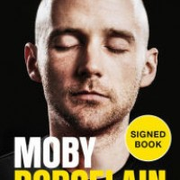 Moby porcelain signed book