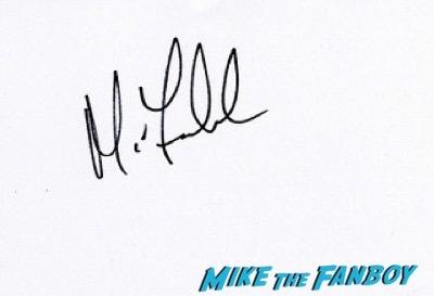 Michael Fassbender Bafta Awards 2016 signing autographs 52