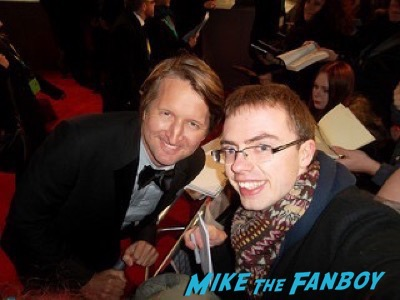 tom hooper fan photo Bafta Awards 2016 signing autographs 7