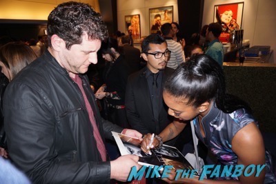 Condola Rashad signing autographs billions q and a