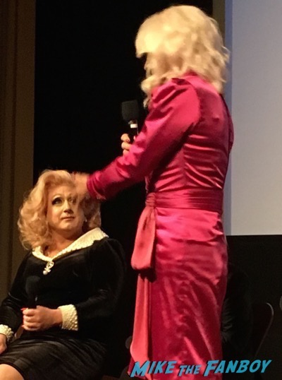 Blunt Talk FYC Q and a Patrick Stewart in Drag dressed as a woman 1