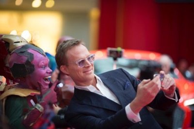 "London UK : Paul Bettany attends the European Premiere Of Marvel's ""Captain America: Civil War"" in London on April 26th, 2016. (Credit  : StingMedia for Disney)"