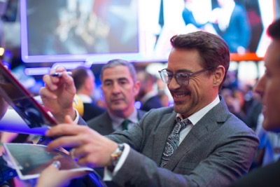 "London UK : Robert Downey JR attends the European Premiere Of Marvel's ""Captain America: Civil War"" in London on April 26th, 2016. (Credit  : StingMedia for Disney)"