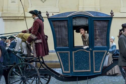 Caitriona Balfe (as Claire Randall Fraser)