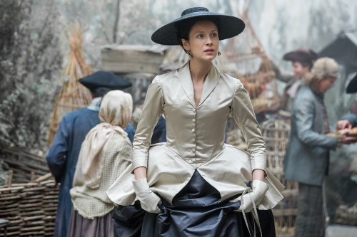 Caitriona Balfe (as Claire Randall Fraser)