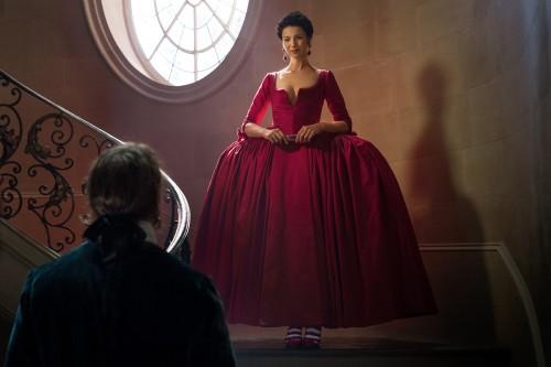 Caitriona Balfe (as Claire Randall Fraser), Sam Heughan (as Jamie Fraser)