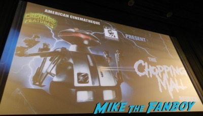 Chopping Mall cast reunion q and a egyptian theater 1