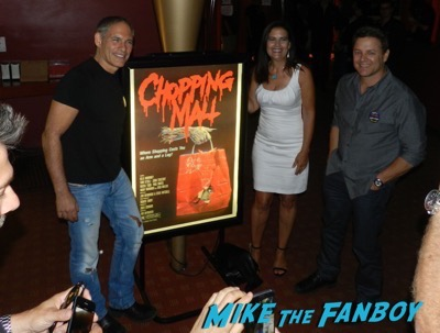 Chopping Mall Cast Reunion and Q and A! Kelli Maroney! Tony O'Dell! Russell Todd! Steve Mitchell! And More!