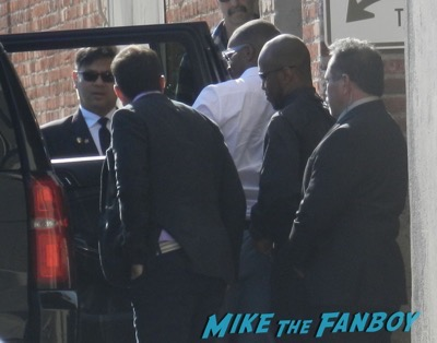 anthony mackie ignoring fans jimmy kimmel live
