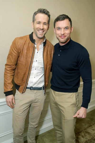 "EXCLUSIVE - Ryan Reynolds and Ed Skrein seen at ""DEADPOOL"" Blu-ray and DVD Press Event on Monday, April 11, 2016, in Beverly Hills, CA. (Photo by Eric Charbonneau/Invision for Twentieth Century Fox Home Entertainment/AP Images)"