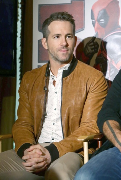 "EXCLUSIVE - Ryan Reynolds seen at ""DEADPOOL"" Blu-ray and DVD Press Event on Monday, April 11, 2016, in Beverly Hills, CA. (Photo by Eric Charbonneau/Invision for Twentieth Century Fox Home Entertainment/AP Images)"