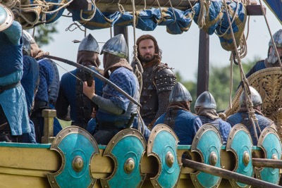 Vikings Death All 'Round Bjorn (Alexander Ludwig) and Ragnar (Travis Fimmel) cr_ Jonathan Hession _ HISTORY)