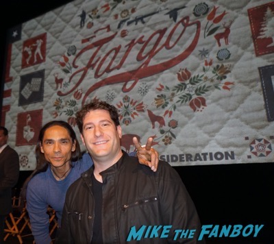 Zahn McClarnon fan photo Fargo FYC q and a season 2 ted danson patrick wilson 3