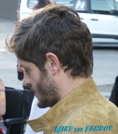 Iwan Rheon signing autographs Jimmy Kimmel live