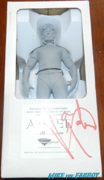James MArsters signed autograph spike action figure prototype