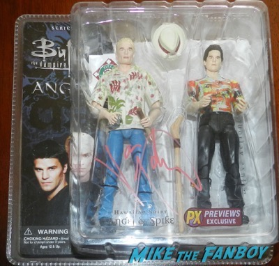 James MArsters signed autograph beneath you spike action figure 9