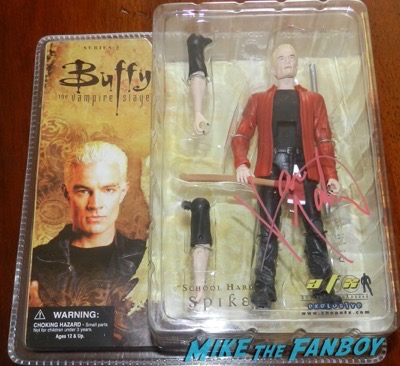 James MArsters signed autograph school hard spike action figure 9