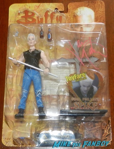 James MArsters signed autograph fool for love spike action figure 9