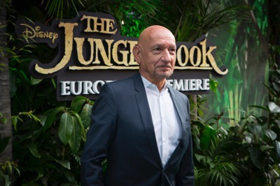 """LONDON, ENGLAND - APRIL 13:  Sir Ben Kingsley and Jon Favreau attend the European Premiere of """"The Jungle Book"""" at BFI IMAX on April 13, 2016 in London, England.  (Photo by Ian Gavan/Getty Images for Walt Disney Studios) *** Local Caption *** Sir Ben Kingsley;Jon Favreau"""