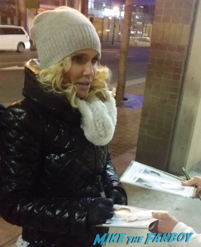 Kristin Chenoweth Signing Autographs signing autographs for fans after her south carolina concert 3