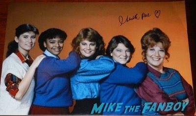 Charlotte Rae signed The Facts of life cast poster
