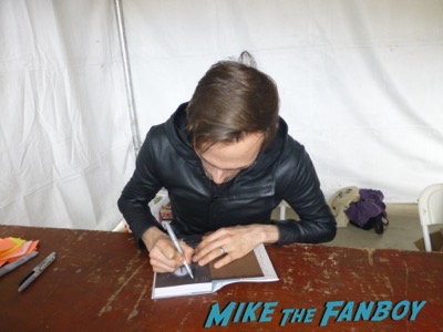 Ransom Riggs signing autographs Los Angeles Times Festival Of Books Charlotte Rae kimberly williams 16