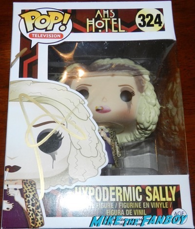 sarah paulson signed autograph hypodermic sally AHS pop funko psa