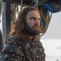Vikings Death All 'Round Bjorn (Alexander Ludwig) and Ragnar (Travis Fimmel) cr_ Jonathan Hession _ HISTORY)