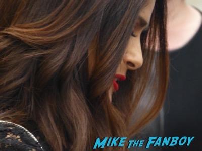 Salma Hayek Signing Autographs Jimmy Kimmel Live 2016 5