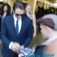 The Adderall Diaries premiere james franco signing autographs 1