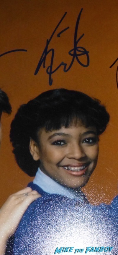 kim fields signed autograph facts of life cast poster photo