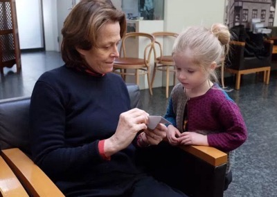 ripley meets ripley sigourney weaver meets young fan named after her 1