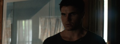 Robbie Amell code 8 press still promo