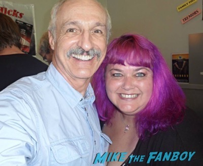 Michael Gross fan photo signing autographs
