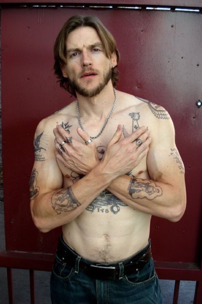 Gideon Emery shirtless