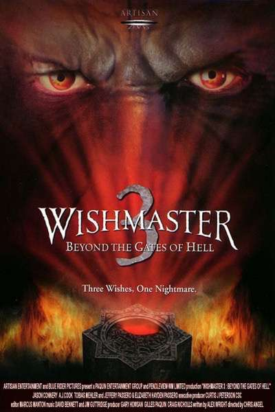 wishmaster 3 poster