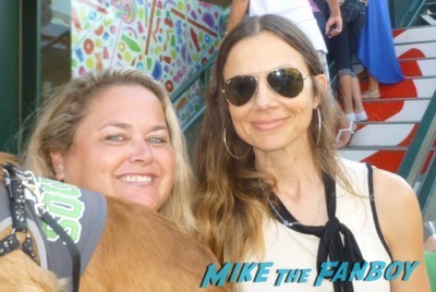 Justine Bateman fan photo signing autographs