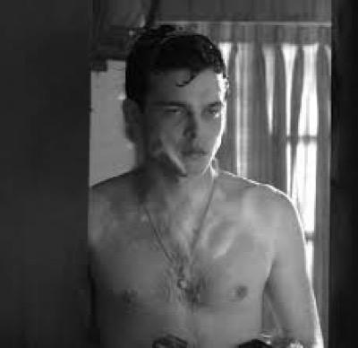 Alden Ehrenreich hot sexy shirtless photo shoot chest hair 5