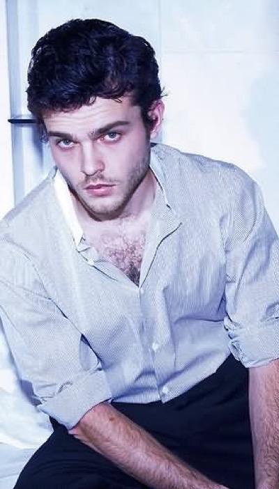 Alden Ehrenreich hot sexy shirtless photo shoot chest hair 7
