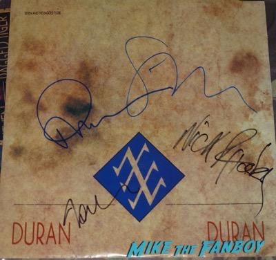 Duran Duran signed autograph lp album psa