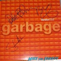 Garbage Steve Marker signed autograph version 2.0 album